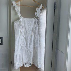 Tularosa White Lace Eyelet Dress Sz XS
